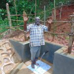 The Water Project: Jivovoli Community, Magumba Spring -  Celebrating The Spring