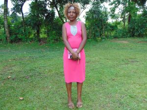 The Water Project:  Mrs Millicent Mugasia