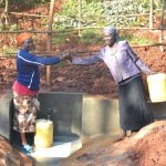 The Water Project: Shikhombero Community, Atondola Spring -  Unity Over Clean Water