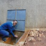 The Water Project: Kerongo Secondary School -  Smiles At The Rain Tank
