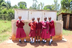 The Water Project:  Posing With Latrines