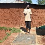 The Water Project: Shikhombero Community, Atondola Spring -  New Sanitation Platform Owner