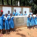 The Water Project: St. Joseph's Lusumu Primary School -  Thumbs Up For New Latrines