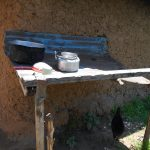 The Water Project: Gimarakwa Primary School -  Dishrack Outside Kitchen