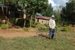 The Water Project:  School Gateman Mr Enock