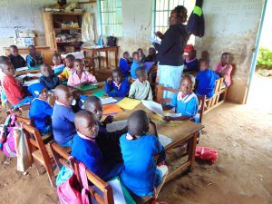 The Water Project:  Pupils In Class