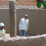 The Water Project: Banja Secondary School -  Working On Central Pillar