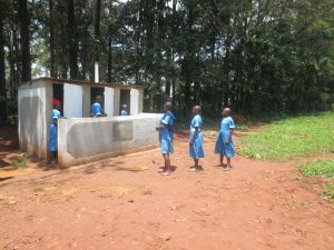 The Water Project:  Checking Out New Latrines