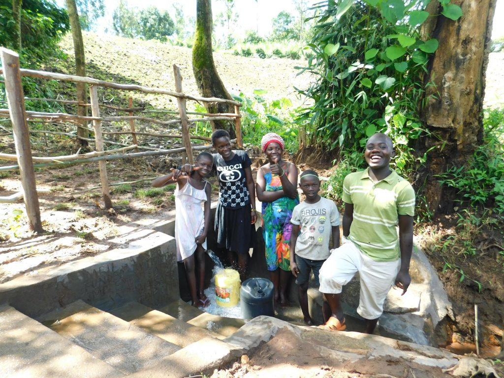 The Water Project : 50-kenya19143-thumbs-up-for-clean-water