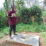 The Water Project: Jivovoli Community, Magumba Spring -  New Sanitation Platform Owner
