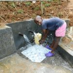 The Water Project: Malimali Community, Shamala Spring -  Happy Day
