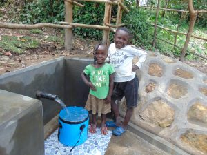 The Water Project:  Smiling Kids At Spring