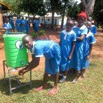 The Water Project: St. Joseph's Lusumu Primary School -  Handwashing