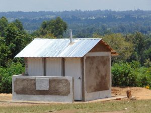 The Water Project:  New Latrine Block