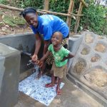The Water Project: Buyangu Community, Mukhola Spring -  All Ages Enjoy Clean Water