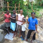 The Water Project: Buyangu Community, Mukhola Spring -  Happy Spring Users