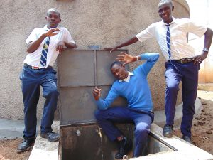 The Water Project:  Boys With The Rain Tank