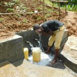 The Water Project: Malimali Community, Shamala Spring -  Cooling Off