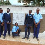 The Water Project: Kerongo Secondary School -  Boys With New Latrines