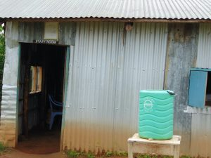 The Water Project:  Handwashing Station Outside Staffroom