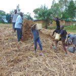 The Water Project: Buyangu Community, Mukhola Spring -  Harvesting Clay