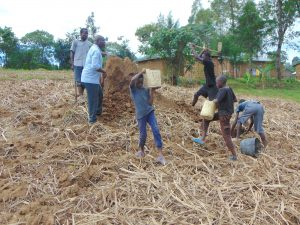 The Water Project:  Harvesting Clay