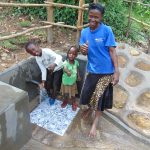The Water Project: Buyangu Community, Mukhola Spring -  Thumbs Up For Clean Water