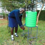 The Water Project: Kerongo Secondary School -  Handwashing