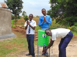 The Water Project:  Boys Say Thank You For Improved Hygiene