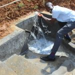 The Water Project: Malimali Community, Shamala Spring -  Celebrating The Spring