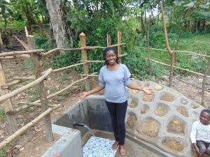 The Water Project:  Field Officer Christine Celebrates The Spring