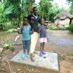 The Water Project: Malimali Community, Shamala Spring -  New Sanitation Platform Owners