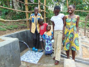 The Water Project:  Happy Kids At The Spring