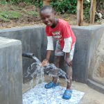 The Water Project: Buyangu Community, Mukhola Spring -  Smiles At The Spring
