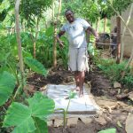 The Water Project: Malimali Community, Shamala Spring -  New Sanitation Platform Owner