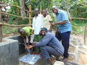 The Water Project:  Men Celebrate The Spring