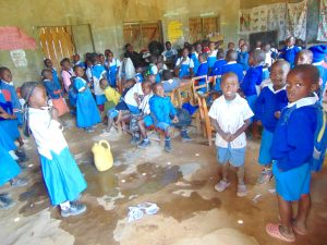 The Water Project:  Early Childhood Development Students In Class