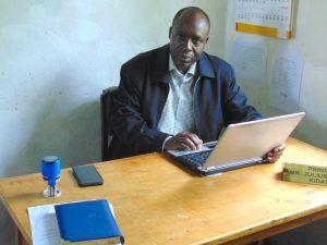 The Water Project:  Principal Julius Nyavuke