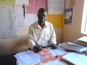 The Water Project:  Deptuy Head Teacher Joshpat Mahamba