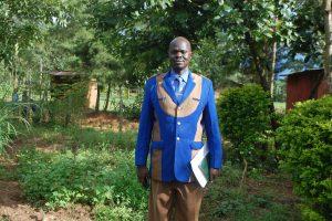 The Water Project:  Headteacher Mr Eliud Wanjala School