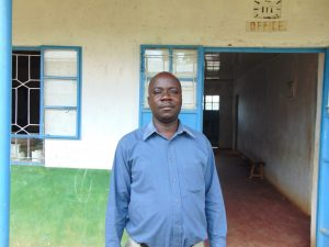 The Water Project:  Deputy Principal Hudson Asava