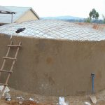 The Water Project: Kosiage Primary School -  Dome Awaits Cement
