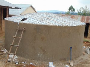 The Water Project:  Dome Awaits Cement