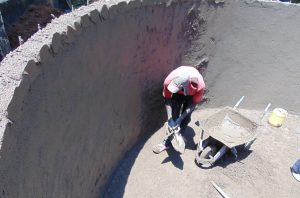 The Water Project:  Interior Plaster Work