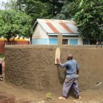 The Water Project: St. Joseph's Lusumu Primary School -  Exterior Cement Work