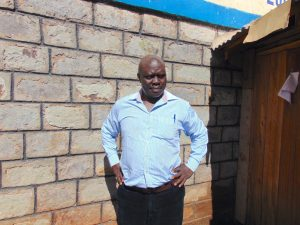 The Water Project:  Head Teacher Mr John Mahelo