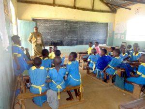 The Water Project:  Teacher Amboste Heads A Class