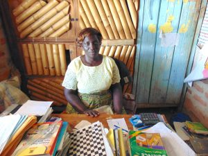 The Water Project:  Deputy Head Teacher Pamella Vugusta