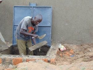 The Water Project:  Access Point And Manhole Cover Work