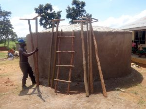 The Water Project:  Wooden Ladder And Supports